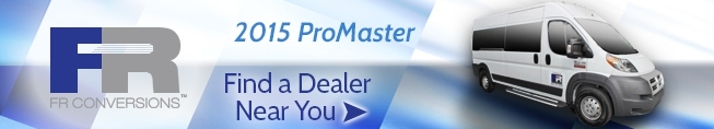 Find a FR Conversions Dealer For Promaster Wheelchair Vans