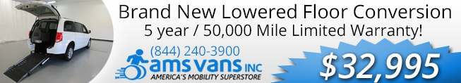 Wheelchair Vans for sale at AMS Vans