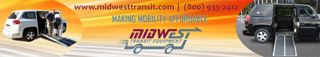 Midwest Transit buses and wheelchair vans for sale