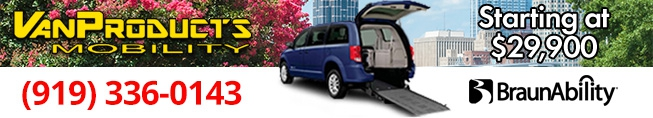 Used Vans with New Conversions starting at $29,900 through Van Products Mobility