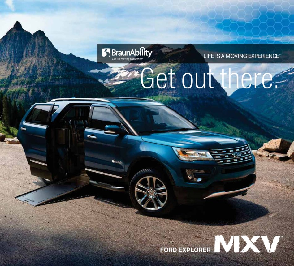 2016 Ford Explorer Mxv Brochure
