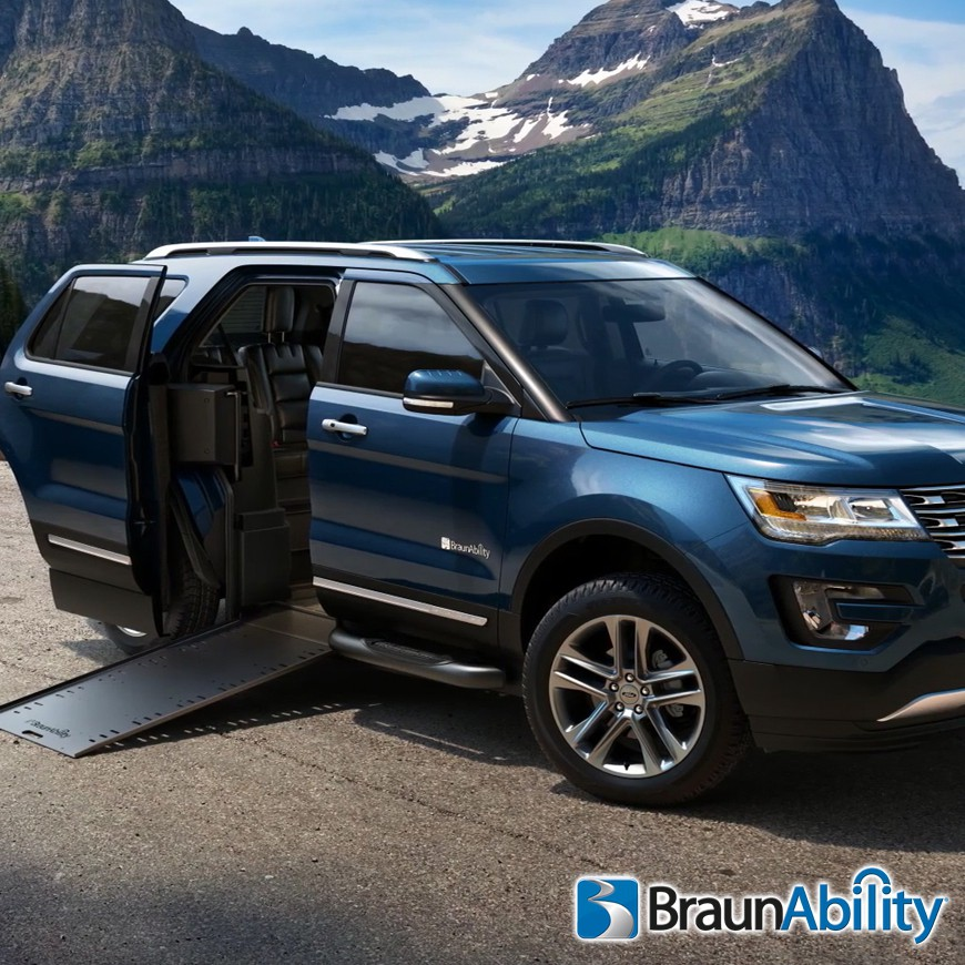 mxv ford explorer wheelchair suv. Black Bedroom Furniture Sets. Home Design Ideas