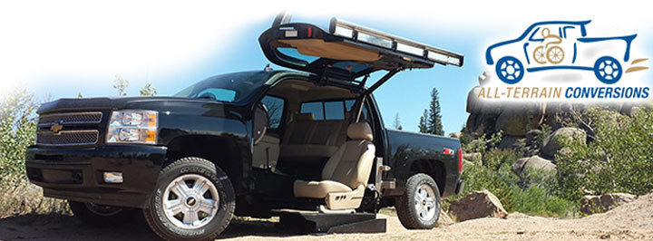 Wheelchair Accessible Truck by All Terrain Conversions