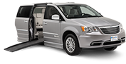 Find and reserve a wheelchair van rental