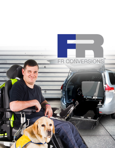 Find a FR Conversions wheelchair van authorized dealer.