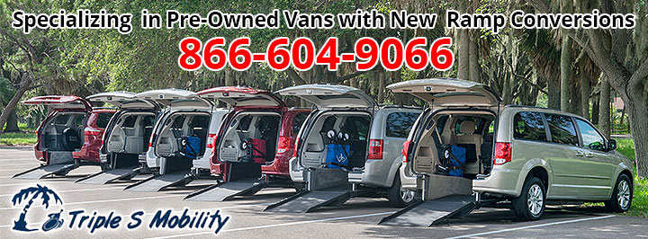 Wheelchair Vans By Triple S Mobility - Shipping Nation Wide.