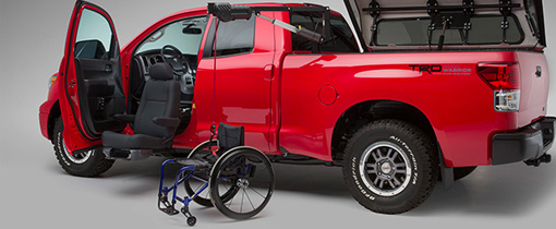 Bruno Wheelchair Lift For Pickup Truck Bed