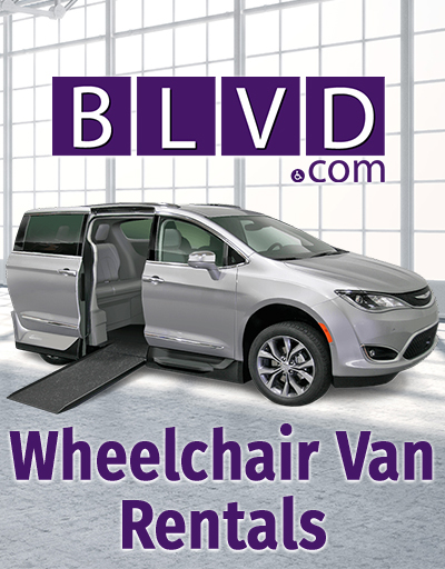 Find a wheelchair van rental at Blvd.com