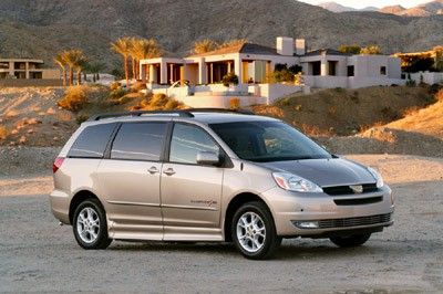 IMS Toyota Sienna Wheelchair Van