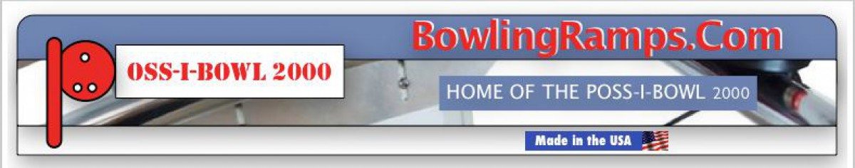 Poss-I-Bowl Bowling System Banner  of 1