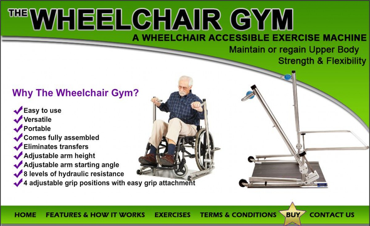 The Wheelchair Gym Banner  of 1