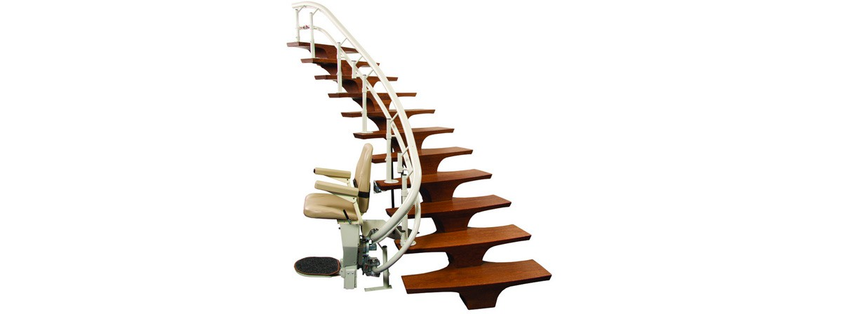 Curved Stair Lift CSL500 Helix Banner  of 1