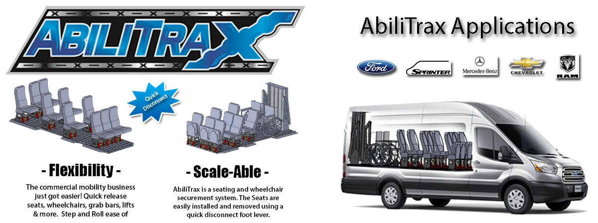 Commercial Wheelchair Van Flooring By AbiliTrax  Banner 2 of 2