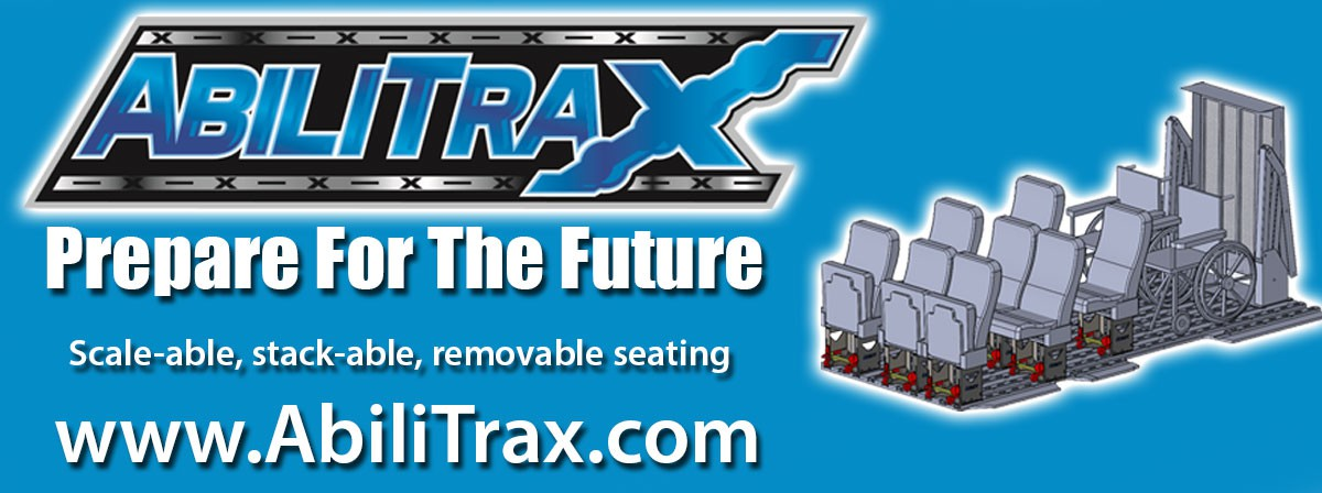 Banner For: Commercial Vans AbiliTrax Modular Seating