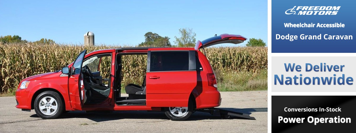 Dodge Power Rear Entry Wheelchair Van