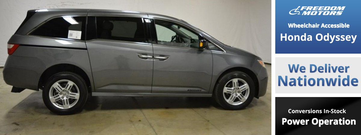 Lifted Honda Odyssey >> Honda Rear Entry Wheelchair Vans Blvd Com