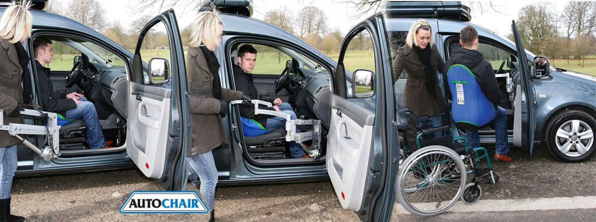 vehicle mobility transfer seats that are removable