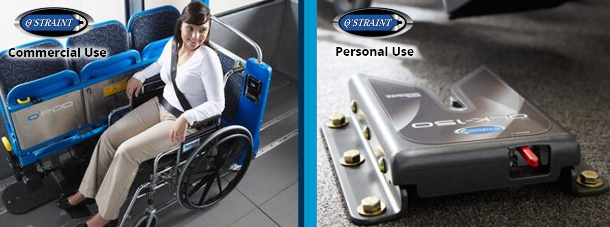qstraint manual retractable automatic wheelchair tie down iq research