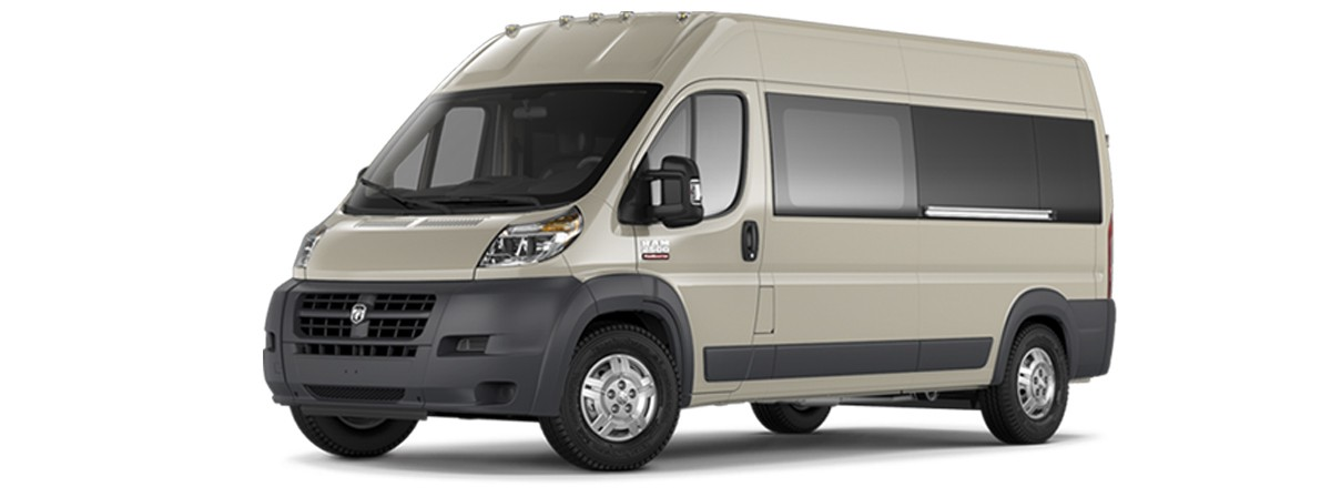 ram promaster full size wheelchair van ada compliant commercial