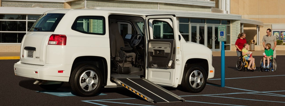 mv1 se side entry manual operation wheelchair accessible vehicle