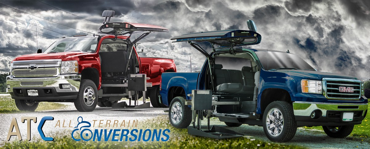 All Terrain Conversions Offers Wheelchair Trucks, SUVs, and Crossovers  Banner  of 1