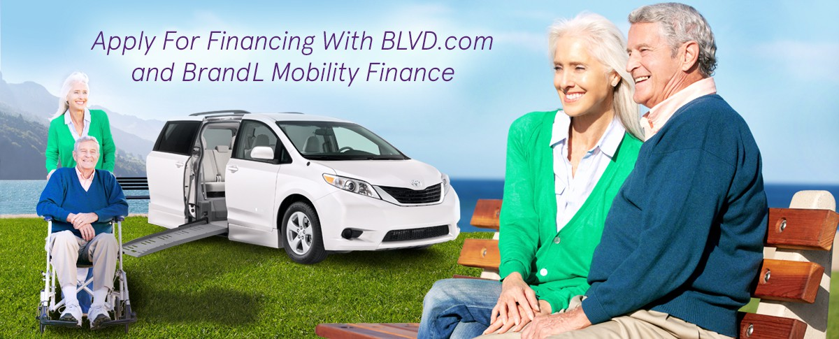 Wheelchair Van Financing with Online Credit Application Banner  of 1