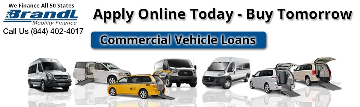 Commercial & Business Wheelchair Van Loans Banner  of 1