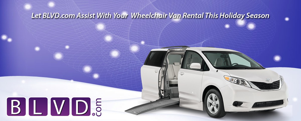 Need A Wheelchair Van Rental? Blvd.com Can Help! Banner  of 1