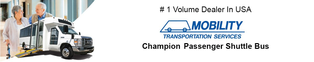 passenger shuttle bus mobility transportation services champion bus