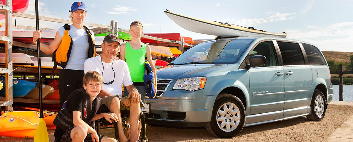 Low Rates for Wheelchair Van Loans Banner  of 1