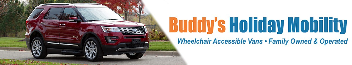 Buddy's Holiday Mobility Banner  of 1