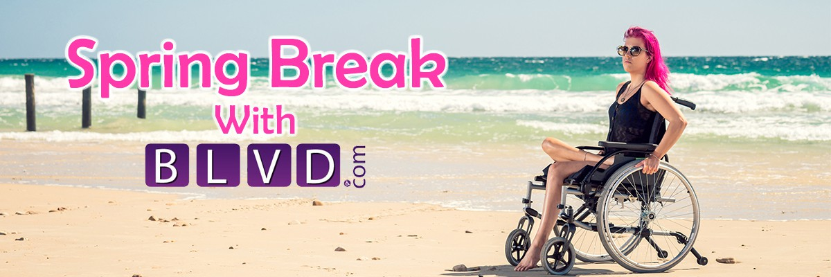 Mobility Friendly Spring Break! Banner  of 1