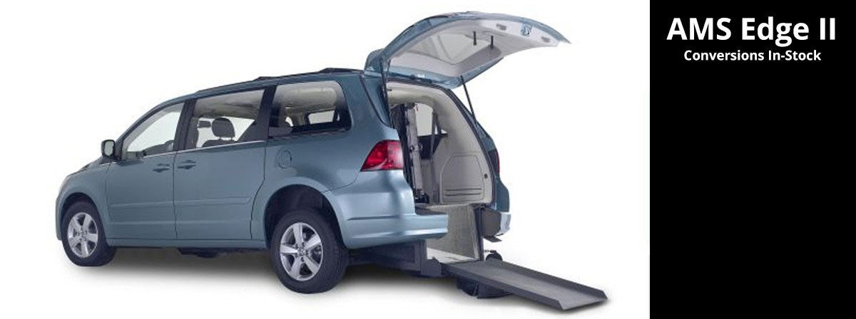 rear entry wheelchair van volkswagen edge manual folding ramp