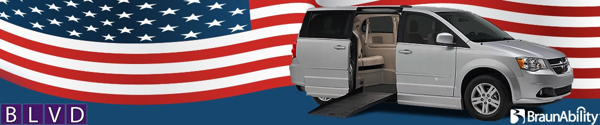 4th of July Wheelchair Van Rentals Banner  of 1