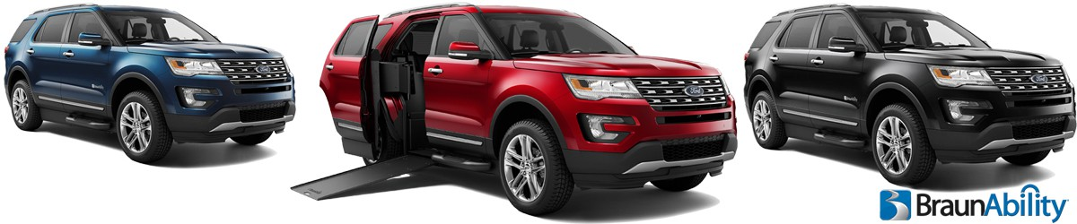 MXV Ford Explorer - Wheelchair SUV Banner 2 of 2