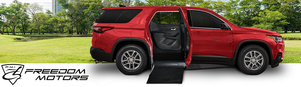Freedom Motors Wheelchair Accessible Chevrolet Traverse SUV
