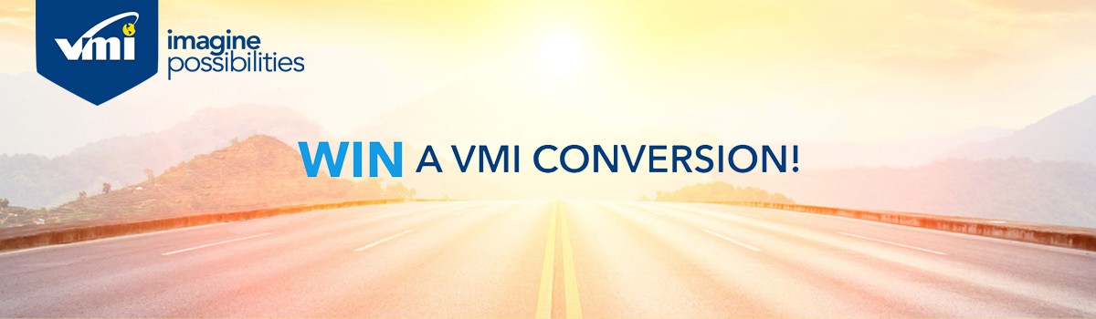 Win A New Conversion Through VMI Banner  of 1