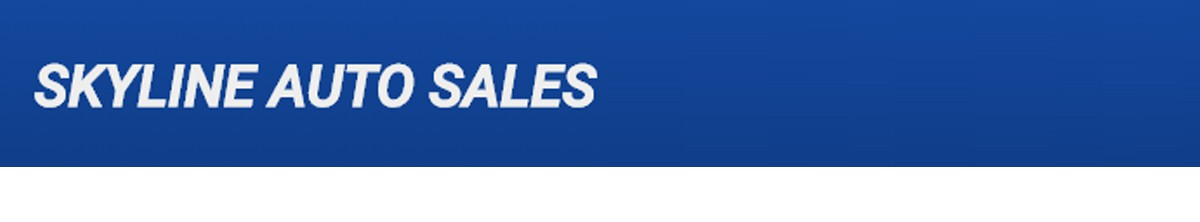 Skyline Auto Sales Banner  of 1