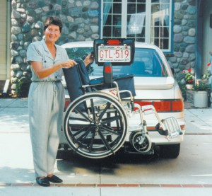 Bruno Back Saver Wheelchair Lift