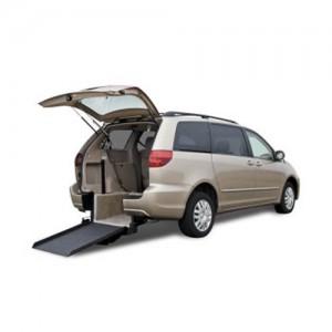 Fmi Toyota Rear Entry Wheelchair Vans