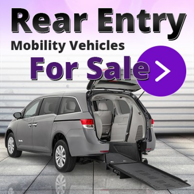View All Rear Entry Wheelchair Vans For Sale.