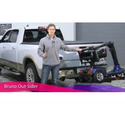 Bruno Out-Sider - Hitch Lift For Scooters