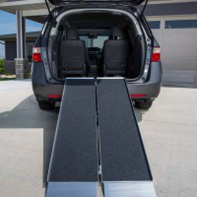 Folding Vehicle Ramps