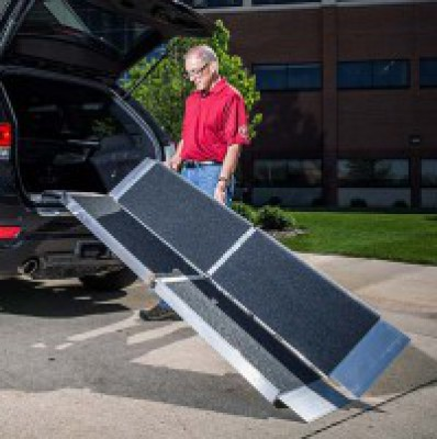 Suitcase Folding Vehicle Ramps