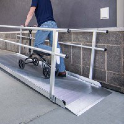 Solid Surface Wheelchair Ramps