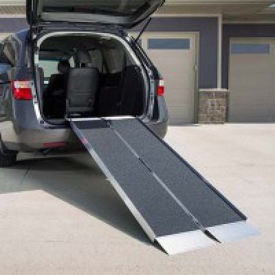 Suitcase Wheelchair Ramp