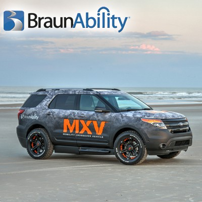 All New BraunAbility MXV Ford Explorer