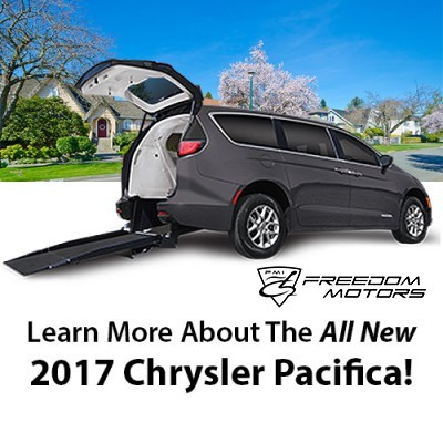 All New 2017 Wheelchair Accessible Chrysler Pacifica