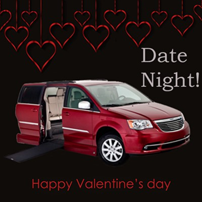 Taking a Loved One With Mobility Needs Out for Valentines Date?