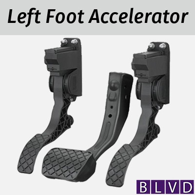 Left Foot Accelerator